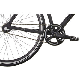 Serious Townracer Bicicletta ibrida nero